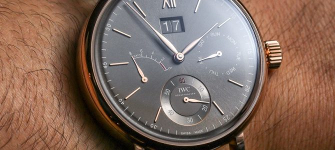 c69b7d48fb603 IWC Portofino Hand-Wound Day   Date Replica Watches Hands-On